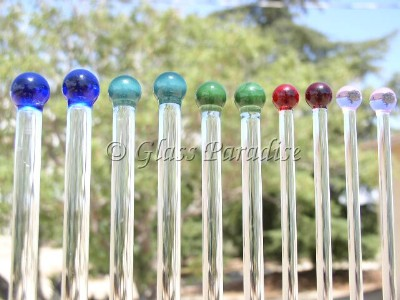 Glass Knitting Needle Sets