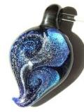 Dichroic Glass Focal Pendants