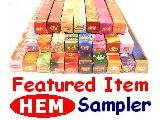 HEM Family Sampler *25 Sublime Scents ~ 8 gram packs.