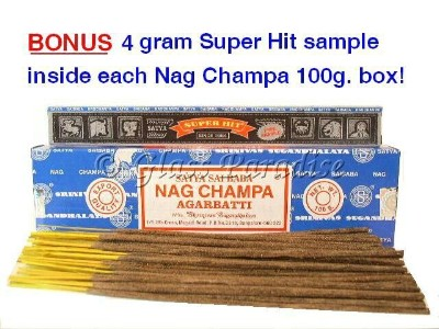 100 gram Original Nag Champa Incense Sticks Satya Sai Baba