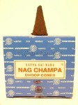 12-pack Nag Champa Original Temple Incense Dhoop Cones