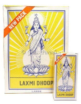 Laxmi Dhoop Sticks Authentic Temple Incense Bulk Case