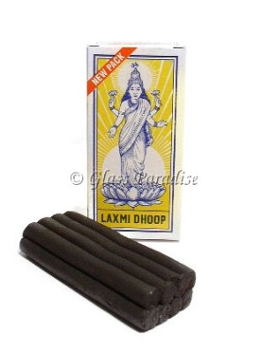 Laxmi Dhoop Sticks Authentic Temple Incense 8-pack