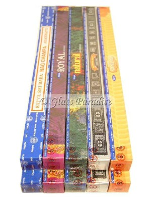 100g Nag Champa Family Sampler Incense Sticks Gift Pack