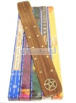 50g Nag Champa Incense Gift Pack *Wicca Pentacle Burner