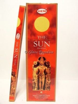 HEM The Sun Incense Sticks Bulk 25 boxes!