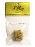 10 Gram Golden Amber Resin Sacred Ayurvedic Relaxation Incense