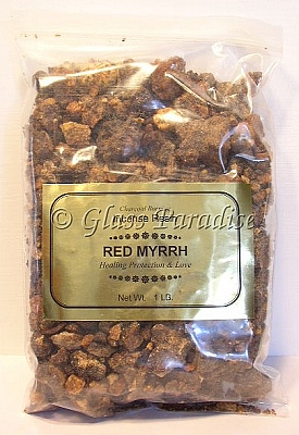 Red Myrrh Incense Resin Commiphora 1 LB Bulk