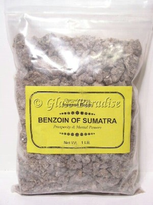 Benzoin of Sumatra Organic Tree Resin Incense 1 LB Bulk