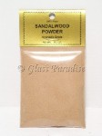 Pure Ayurvedic Sandalwood Incence Powder 1/2 oz.