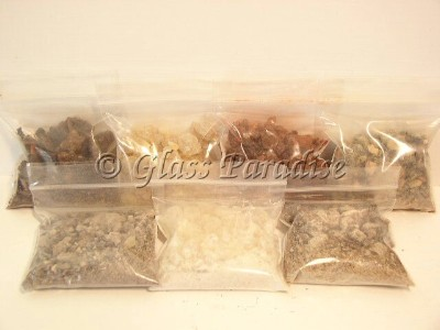 Lucky 7 Resin Incense Gift Pack Altar Ceremonial