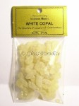 White Copal Resin South American Shaman Incense 3/4 oz.