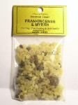 Frankincense & Myrrh Sacred Incense Resin 3/4 oz.