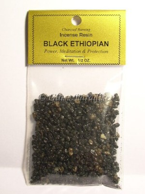 Black Ethiopian Macumba Sacred Altar Resin Incense 1/2 oz.