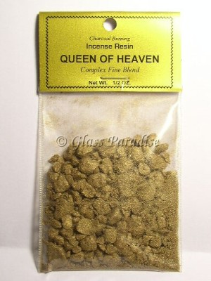 Queen Of Heaven Ancient Altar Resin Incense  1/2 oz.
