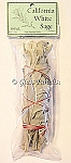 California White Sage One Small Smudge Stick