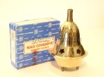 Brass Cone Incense Burner w/ Nag Champa *Taj Mahal Meditation Yoga