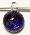 Dichroic Galaxy Focal Pendant Handblown Glass