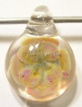 Flower Implosion Glass Focal Pendant by Mark Black #17