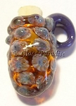 Lampwork Mini Vessel Art Glass Pendant Aromatherapy Bead #103