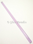 Handmade Lavender Glass Drinking Straw by Glass Paradise